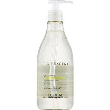 L'Oréal Professionnel Serie Expert Pure Resource čisticí šampon pro mastné vlasy a vlasovou pokožku  500 ml
