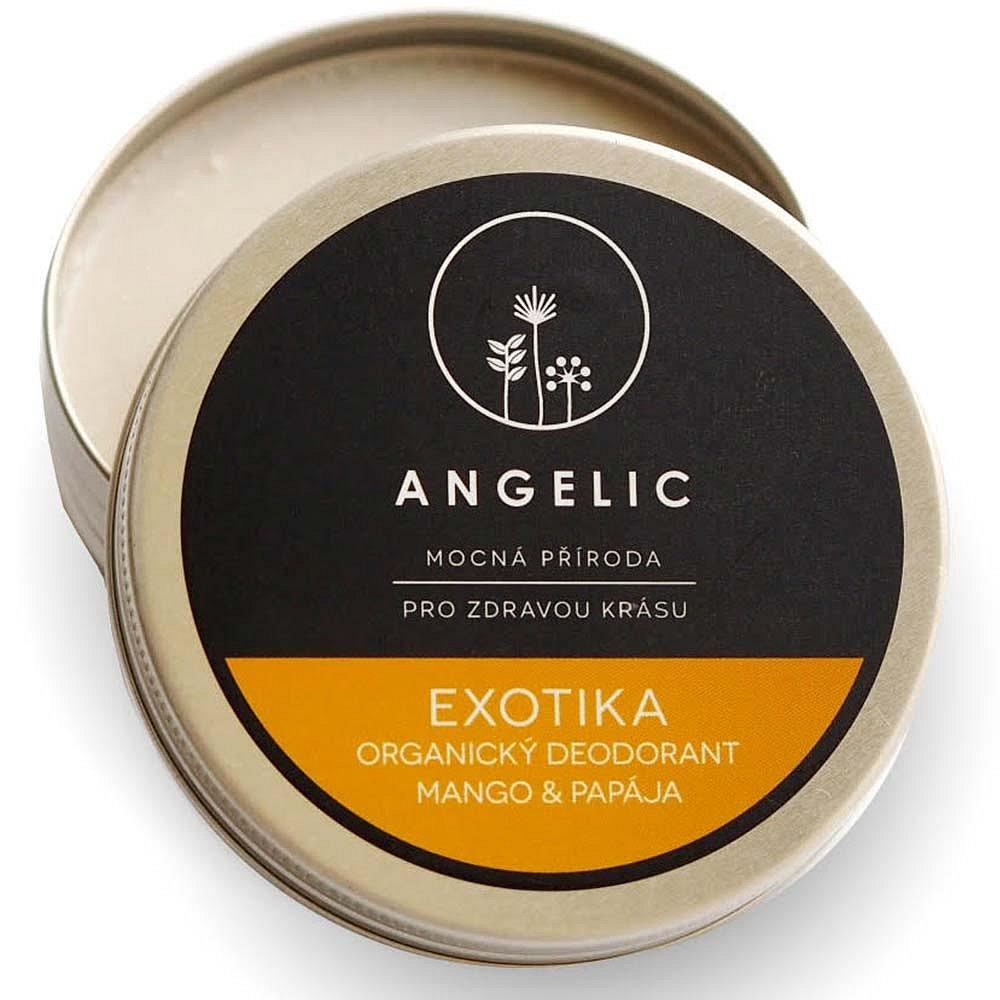 ANGELIC Organický deodorant Mango & Papája 50 ml