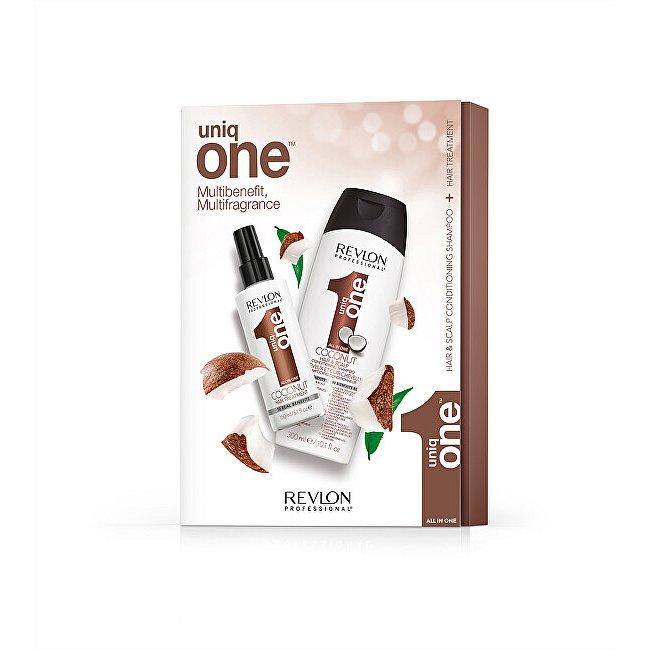 Uniq One Kosmetická sada vlasové péče KOKOS 150 ml + 150 ml