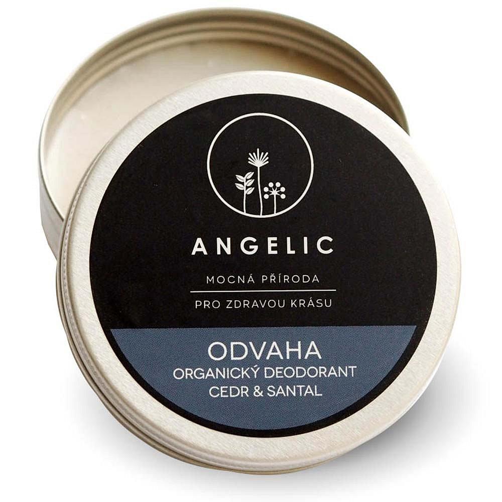 ANGELIC Organický deodorant Cedr & Santal 50 ml