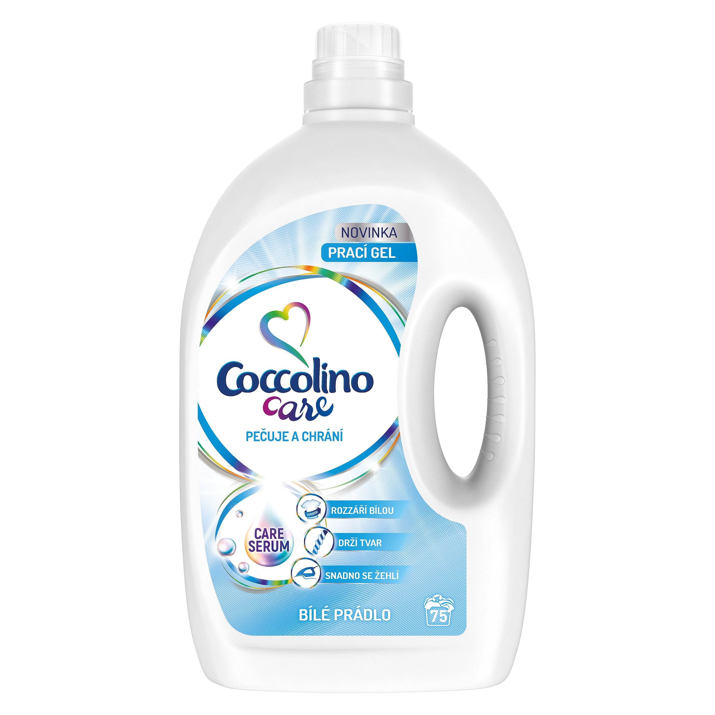 Coccolino Care White prací gel, 75 praní 3 l
