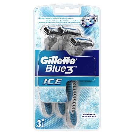 Gillette Blue3 Ice pohotová holítka 3ks