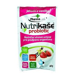 Nutrikaše probiotic s jahodami a vanilkou 60 g