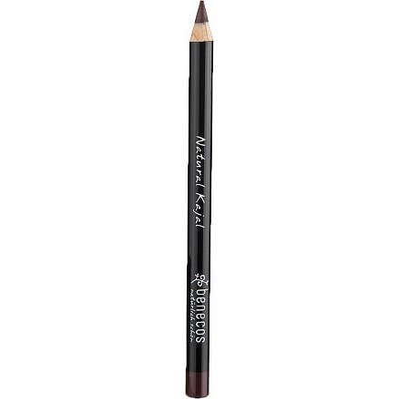 Benecos tužka na oči hnědá BIO 3g