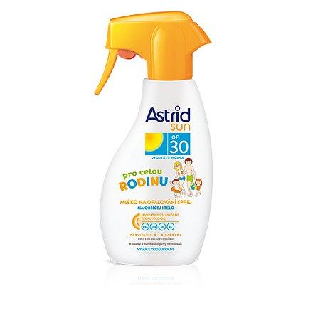 ASTRID SUN Rodinné mléko na opalování spray OF 30 300 ml