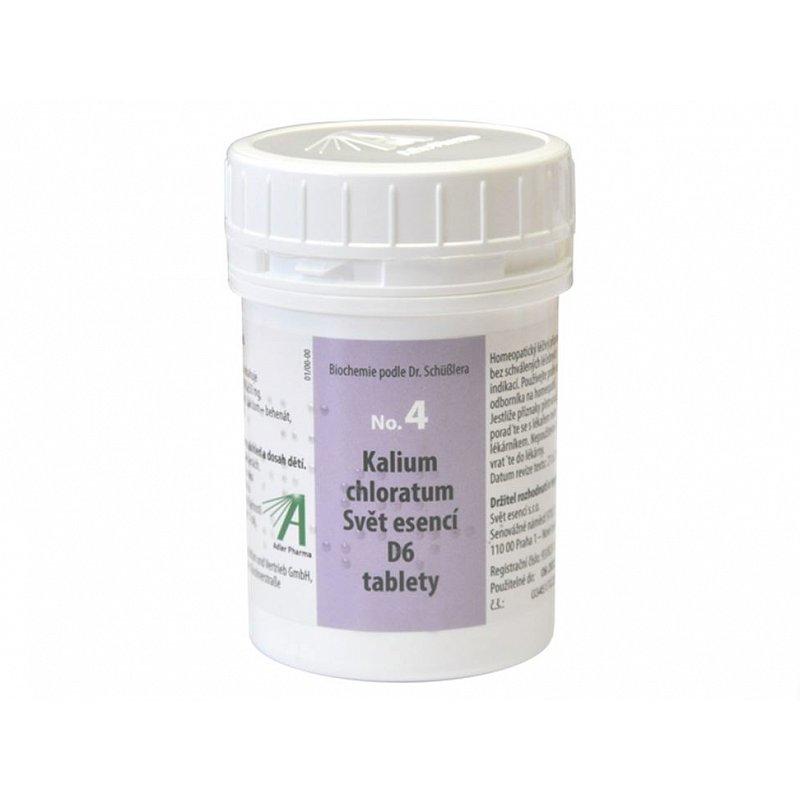 Adler Pharma Nr. 4 Kalium chloratum D6 1000 tablet