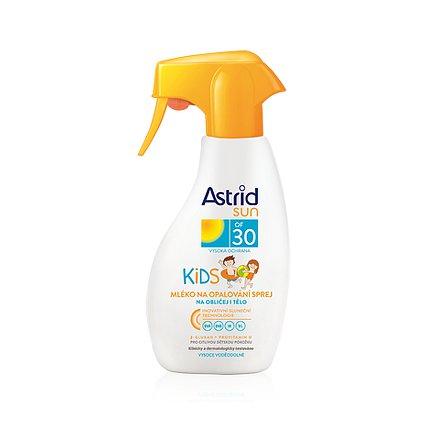 ASTRID SUN Dětské mléko na opalování spray OF 30 200 ml
