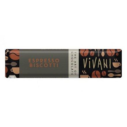 Čokoládová tyčinka s espresso náplní VIVANI 40g - BIO