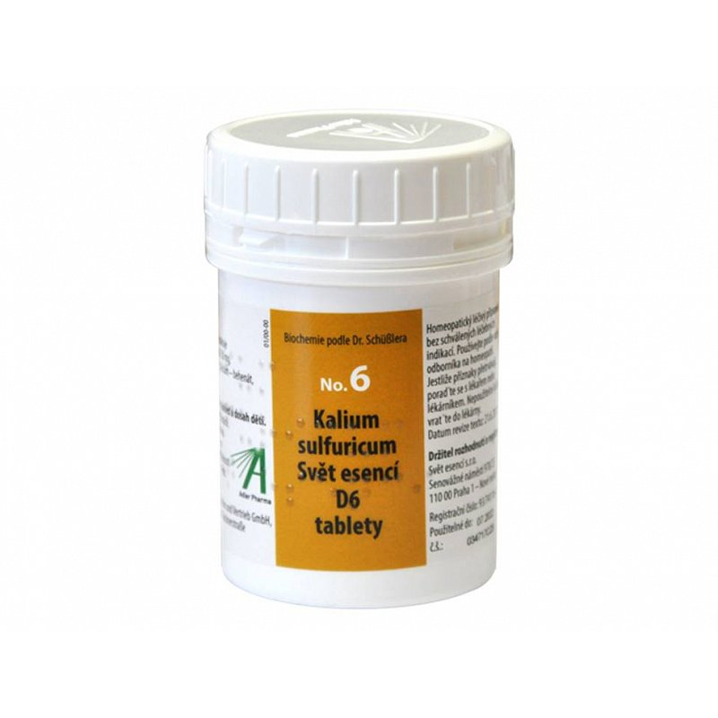 Adler Pharma Nr. 6 Kalium sulfuricum D6 1000 tablet