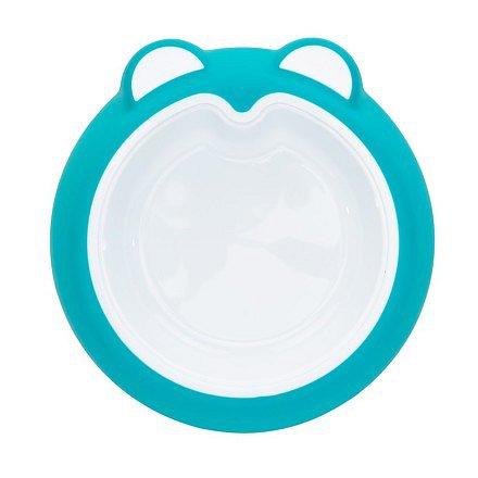 Badabulle talíř ANTI-SLIP Ice Blue