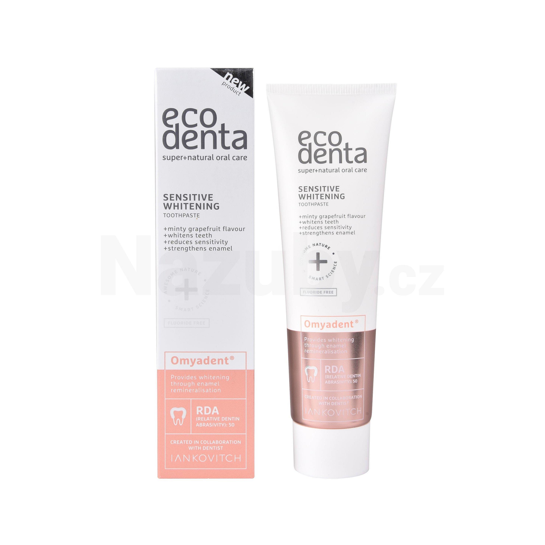 Ecodenta pro citlivé zuby s bělicím účinkem Sensitive Whitening Toothpaste 100 ml