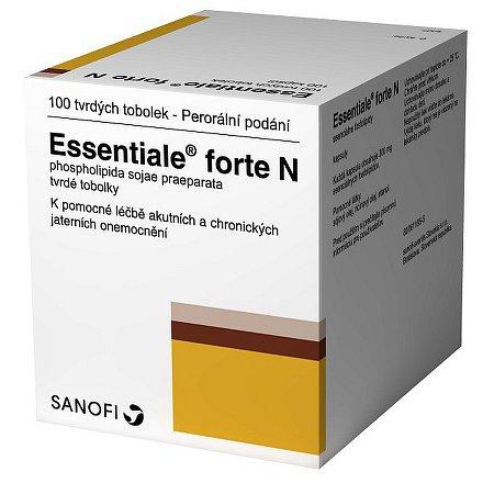 Essentiale Forte N perorální orální tobolky tvrdá 100