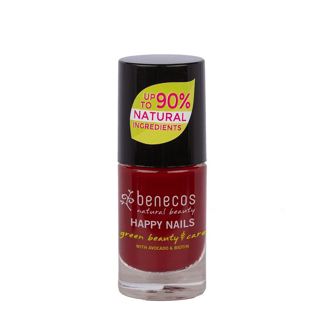 Benecos lak na nehty Cherry red 8 free 5ml