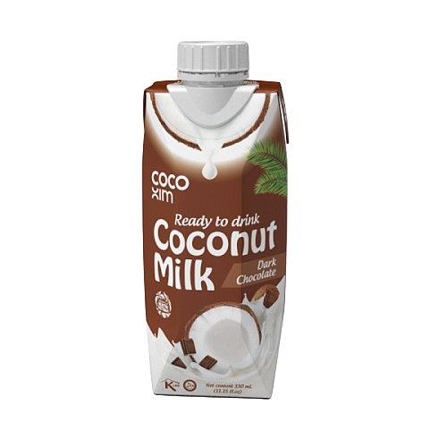COCOXIM kokosový nápoj čokoláda, 330 ml