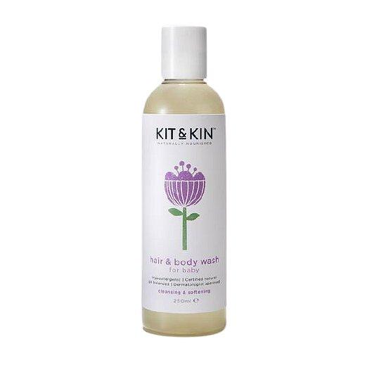 Kit & Kin Vlasový a tělový šampón 250ml