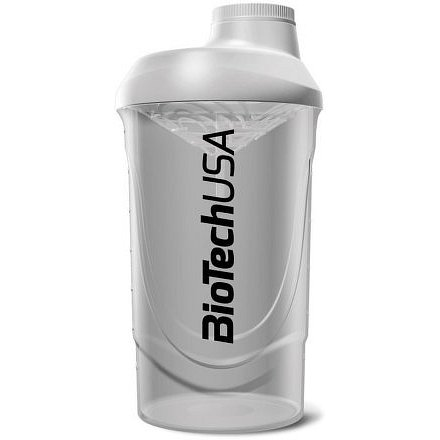 "BiotechUSA Shaker Wave Biotech USA""Opal White"" (600ml)"