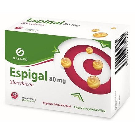 Galmed Espigal 80mg 100 kapslí