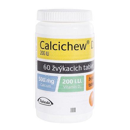 Calcichew D3 60 žvýkacích tablet