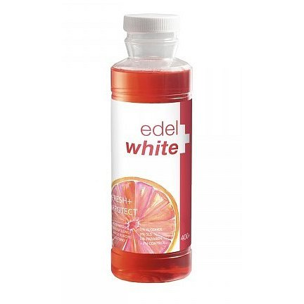 EDEL+WHITE Úst.voda Fresh+Protect 400ml
