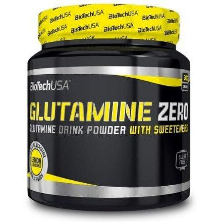 BiotechUSA Glutamine Zero 300g Peach ice tea