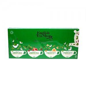 ENGLISH TEA SHOP Kolekce zelených čajů 60 sáčků Dárková kazeta