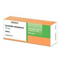 Loratadin-Ratiopharm 30 tablet