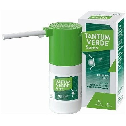 Tantum Verde Spray orální sprej 30ml 0.15%