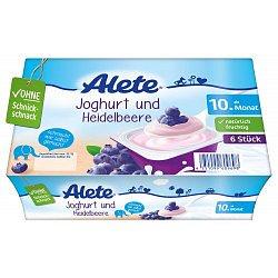 Alete Dezert jogurtovo-borůvkový 10m+ 6x50 g
