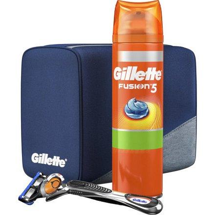 Fusion Proglide (strojek + 1 NH + gel 200ml + cestovní taška)