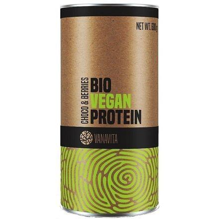 VanaVita Bio Vegan Protein banana strawberry 600g
