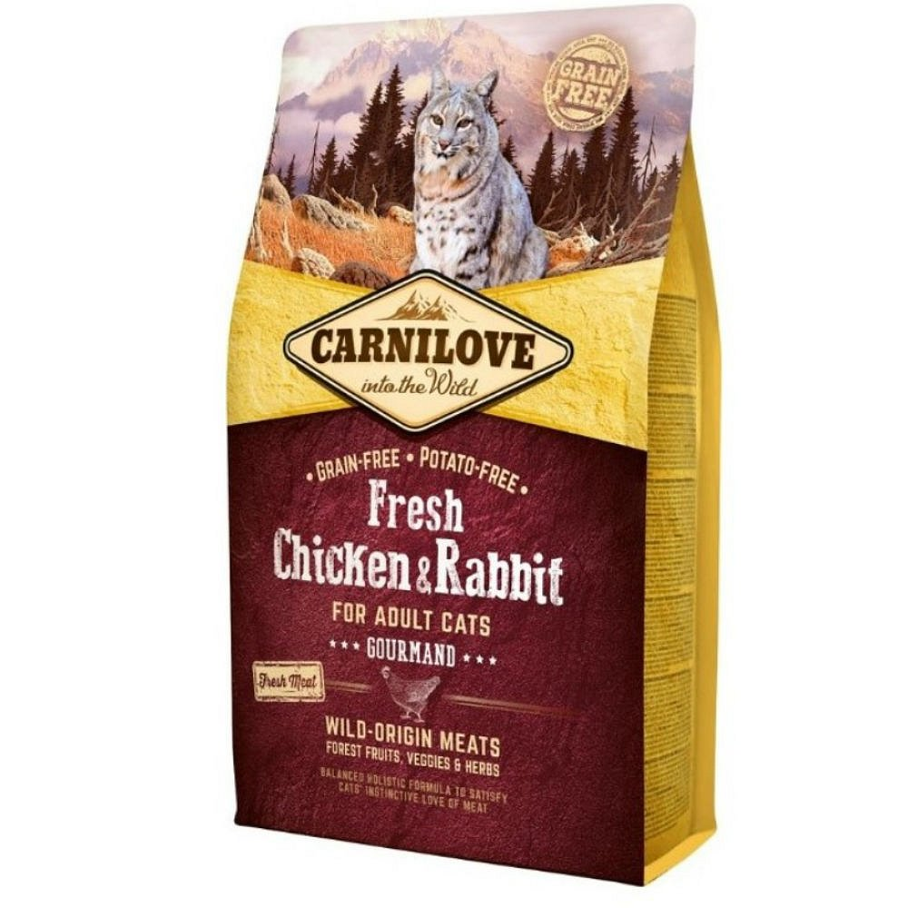 CARNILOVE Cat Fresh Chicken & Rabbit for Adult 2 kg