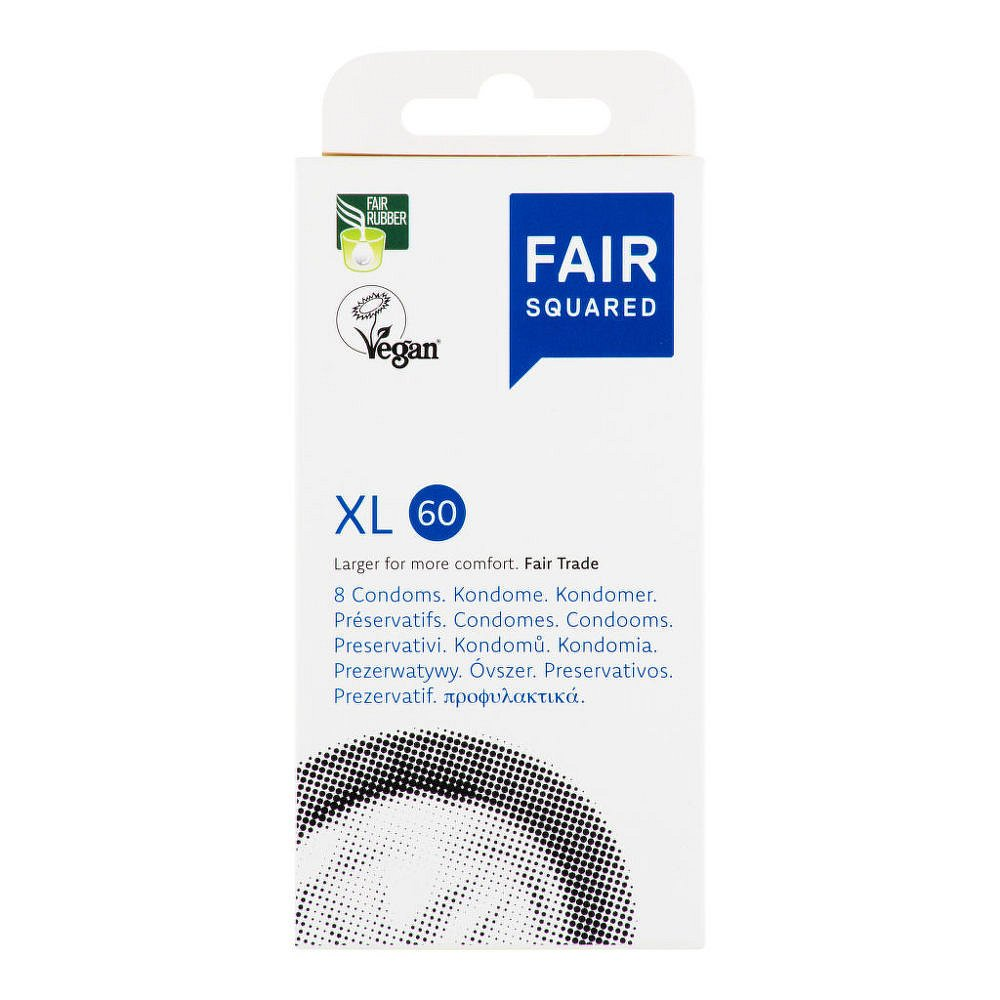 FAIR SQUARED Kondom XL 60 8ks