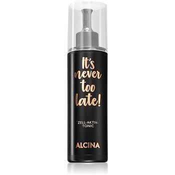 Alcina It's never too late! pleťové tonikum s ovocnými kyselinami 125 ml