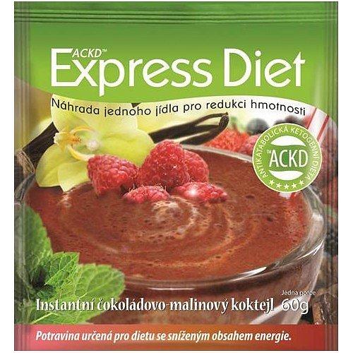 Express Diet - instantní čokoládovo-malinový koktejl 60 g