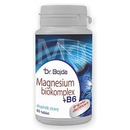 Dr. Bojda MAGNESIUM Biokomplex + B6 tbl.80