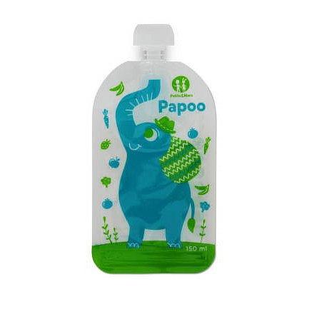 Kapsička na jídlo Papoo Slon 6ks, Petite&Mars