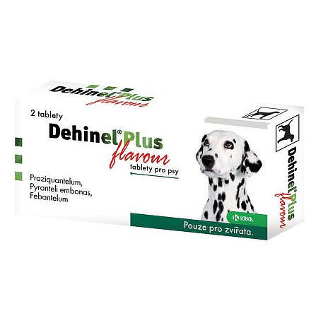 DEHINEL PLUS FLAVOUR tablety pro psy