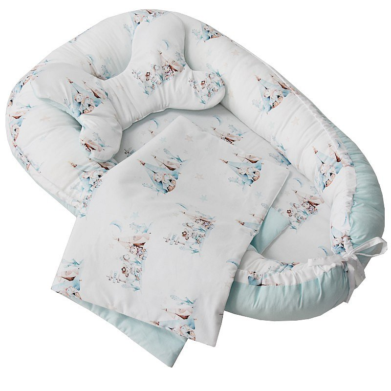 EKO Sada pro miminko 3-dílná bavlněná Western