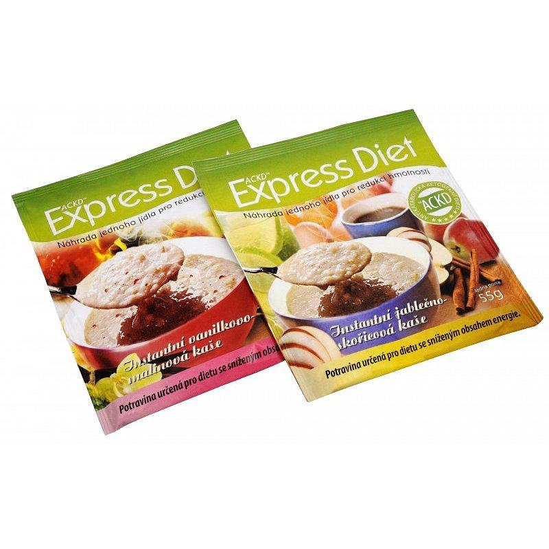 Express Diet - instantní kaše Vanilkovo-malinová 53 g