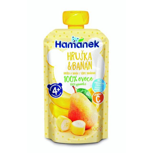 HAMÁNEK Hruška & banán 100 g
