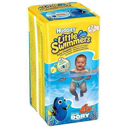 Plavací plenky Little Swimmers pro novorozence a kojence s váhou 3-8 kg.