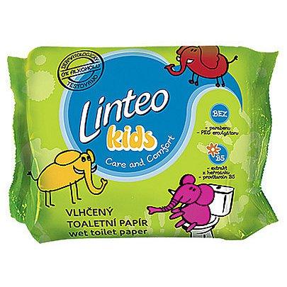 Toaletní papír LINTEO Kids vlhčený 60ks náplň - poslední kus skladem