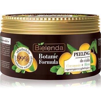 Bielenda Botanic Formula Lemon Tree Extract + Mint vyhlazující tělový peeling  350 g