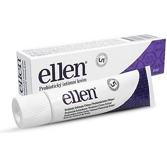 Probiotický intimní krém ellen 15 ml