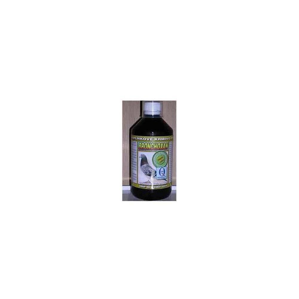 Aquamid Bronchoxan pro holuby bylinný sirup 500ml