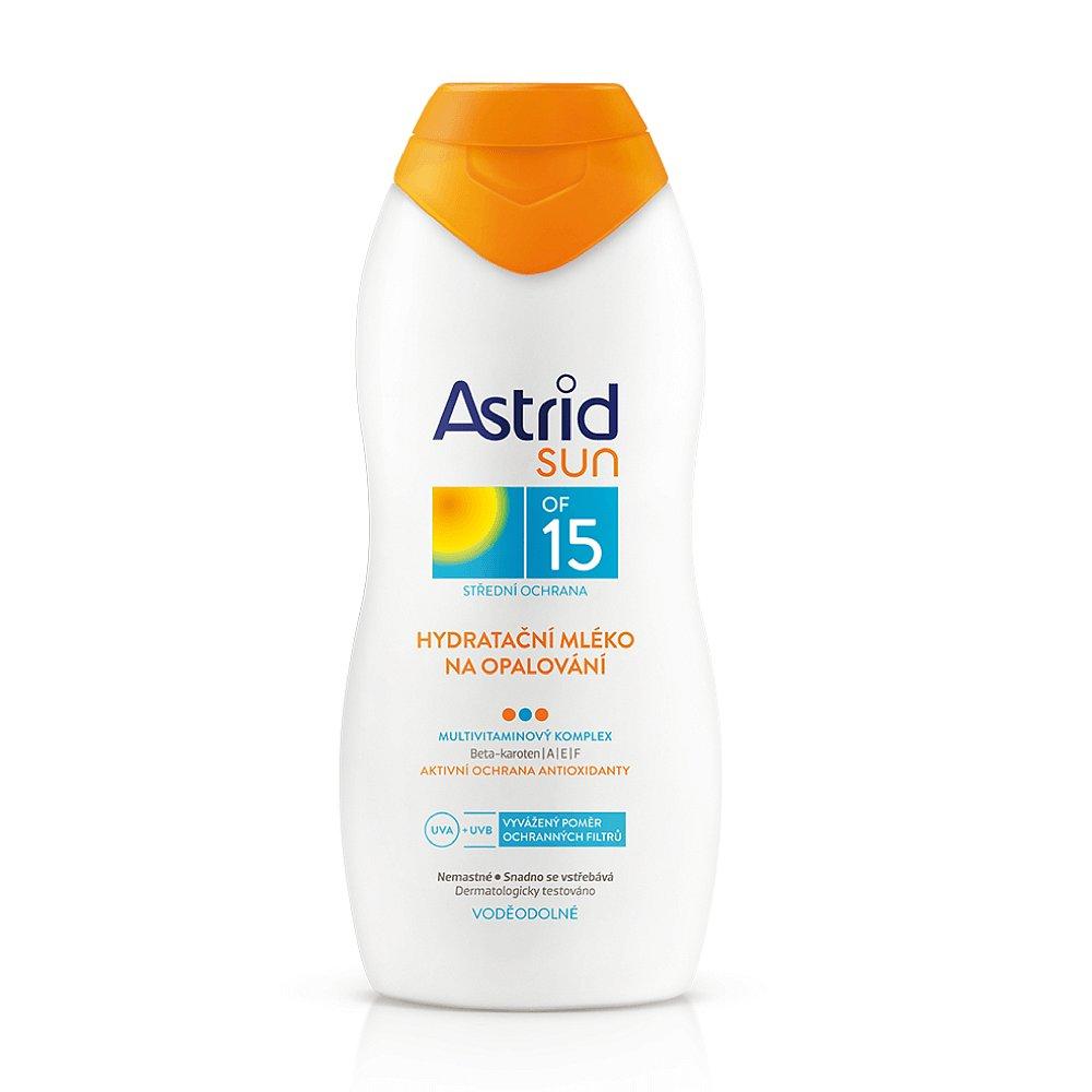 ASTRID Sun Hydratační mléko na opalování OF 15 200 ml