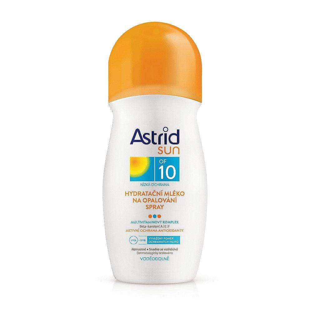 ASTRID Sun Hydratační mléko na opalování Sprej OF 10 200 ml