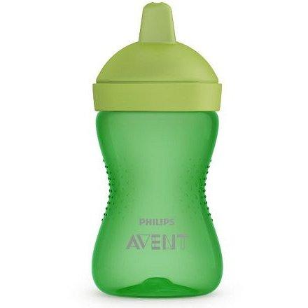 Avent netekoucí hrneček 300 ml tvrdá hubička zelená