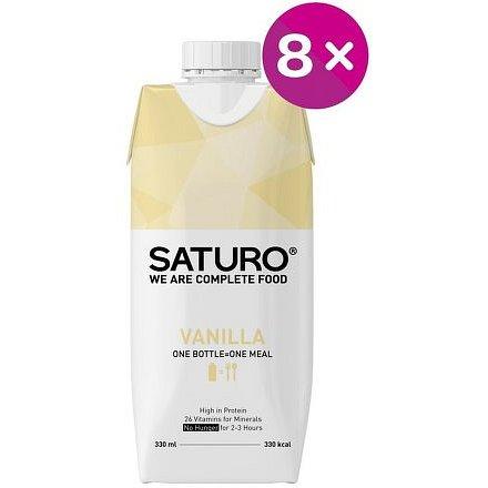 SATURO Vanilla 8x 330ml