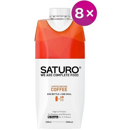 Saturo Coffee 8x 330 ml